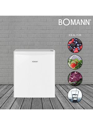 Bomann KB 389 - Nevera combi (Independiente, Color blanco, Derecho ...
