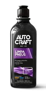 limpa pneus pretinho autocraft proauto