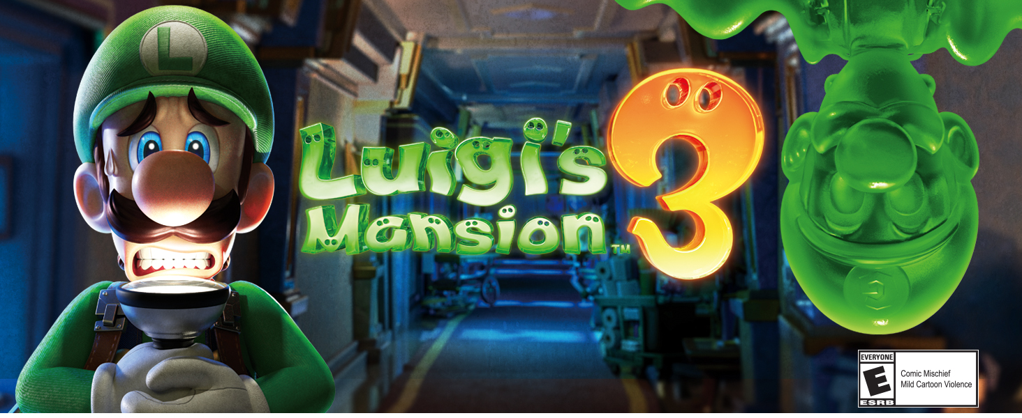 Amazon Com Luigi S Mansion 3 Nintendo Switch Nintendo Of America Video Games