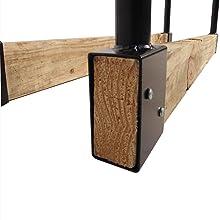 Amazon.com: Panacea 15206, leñero de largo ajustable ...