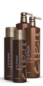 Cibu, hair care, platinum, shampoo, conditioner