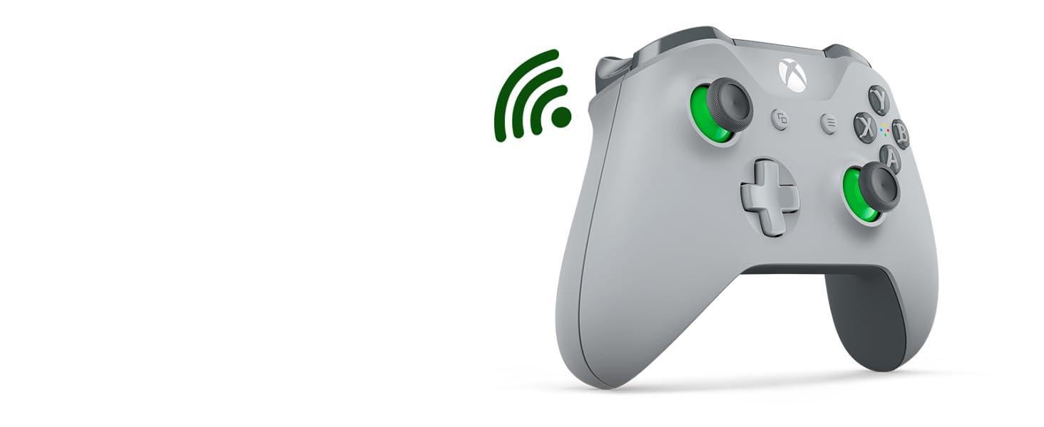 Mando inalámbrico Xbox Gris y Verde
