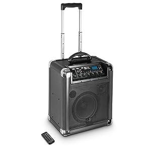 Ld Systems Ldrj10 Roadjack 10 Batteriegespeister Bluetooth Lautsprecher Mit Mixer Schwarz Musikinstrumente