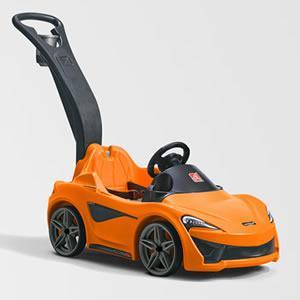 Amazon.com: Step2 McLaren 570S Push Sports Car: Toys & Games