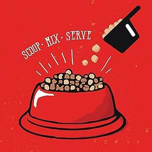 Scoop, Mix, Serve