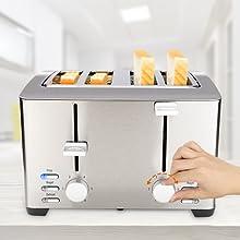 4 slices toaster