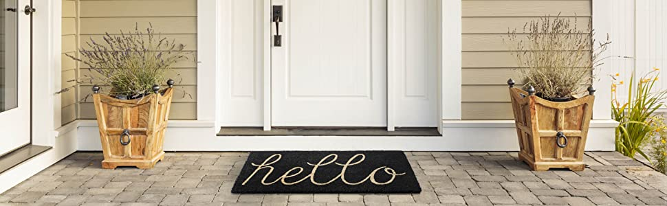 mat door rug outdoor mats rugs dog decor floor kitchen black home welcome indoor shoe rubber tray