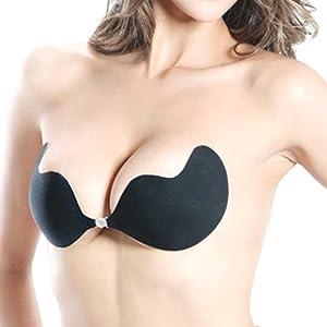0f03b4da66 PURE STYLE Girlfriends Women s Enchantress Deep V Adhesive Backless ...