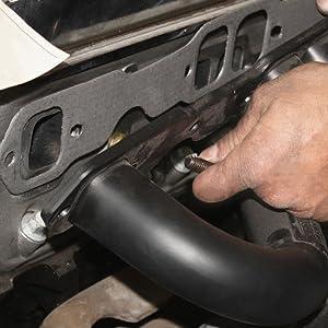 DNA Motoring GKTSET-CSS0660L+Y Aluminum Exhaust Manifold Header Gasket Set Replacement