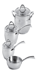 Oster, stainless steel cookware, oster cookware sets, pots and pans, cookware sets, sauce pans