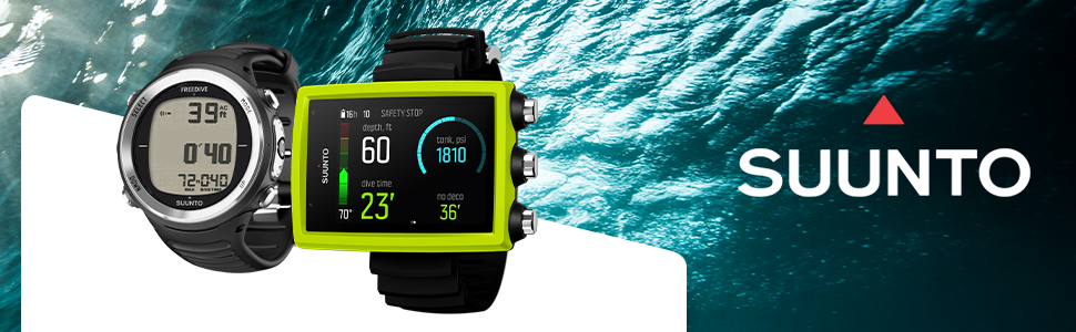 Suunto Dive Watches and Computers
