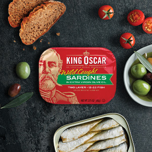 king oscar, sardines, norwegian