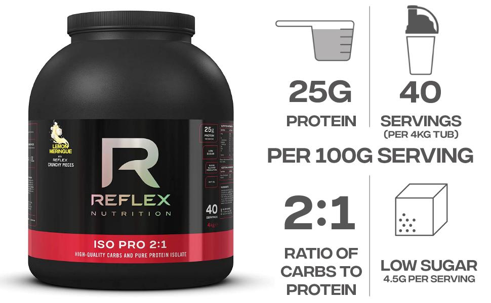 Reflex Nutrition Polvo De Proteínas Reflex Nutrition ...
