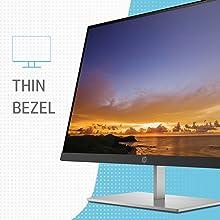 HP Quantum Dot 27 Monitor 3 sided Thin bezel