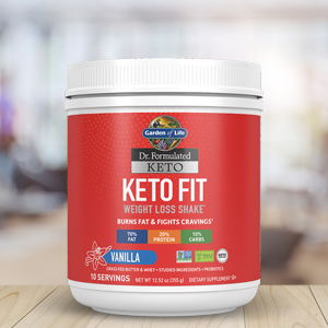 garden of life dr formulated keto fit