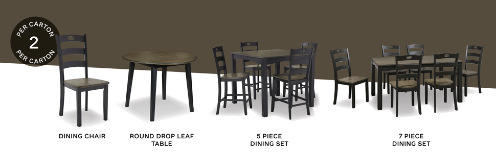 set of 2 chairs barstool bar stool stools square counter height table rectangle 5 7 piece dining set