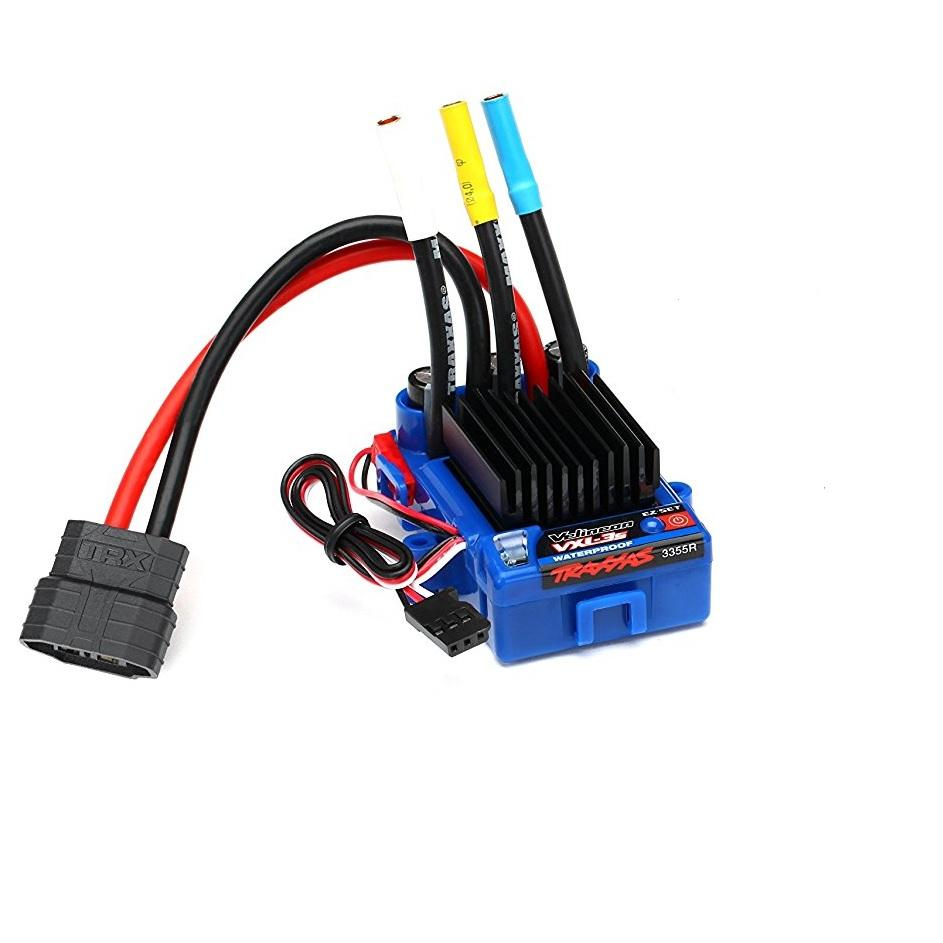 Traxxas 3350r Velineon Vxl 3s Brushless Power System Wiring Diagram For Two Motors And One Esc Recommended View Larger