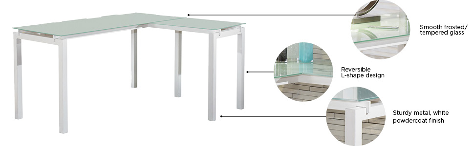 white glass furniture mod2 amazoncom ashley furniture signature design baraga collection
