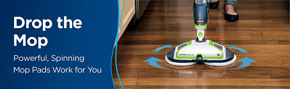 Spinwave, mop, mop and bucket, floor cleaner, hardwood cleaner, wood floor, tile, linoleum, spin mop