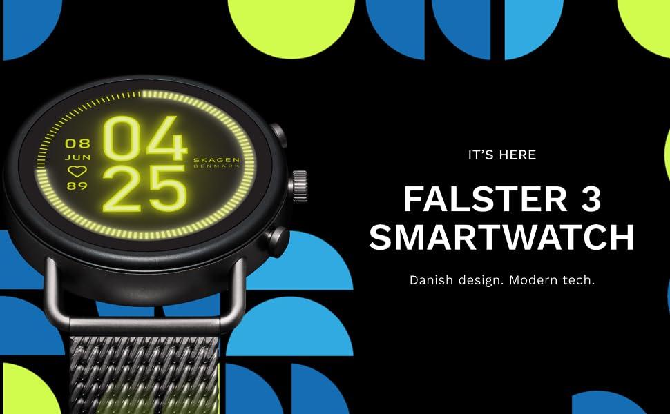 SKAGEN、FALSTER3、SKT5200、SKT5201、SKT5202、SKT5203、スマートウォッチ、スカーゲン、充電、GPS、心拍、音楽、通知、デンマーク、ウォッチ、北欧ウォッチ