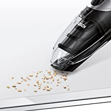 Bosch BBH21622 Escoba Recargable y Aspirador de Mano, 450 W, 0.3 litros, 1, 76 Decibelios, Chocolate-16.8V: Amazon.es: Hogar