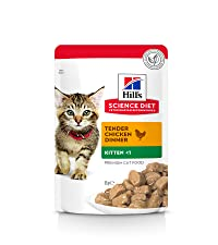 kitten food, pouches, wet cat food