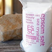 エプソムソルト 保湿 皮膚 化粧品 クエン酸 ローズマリー アロマオイル アロマセラピー入浴剤