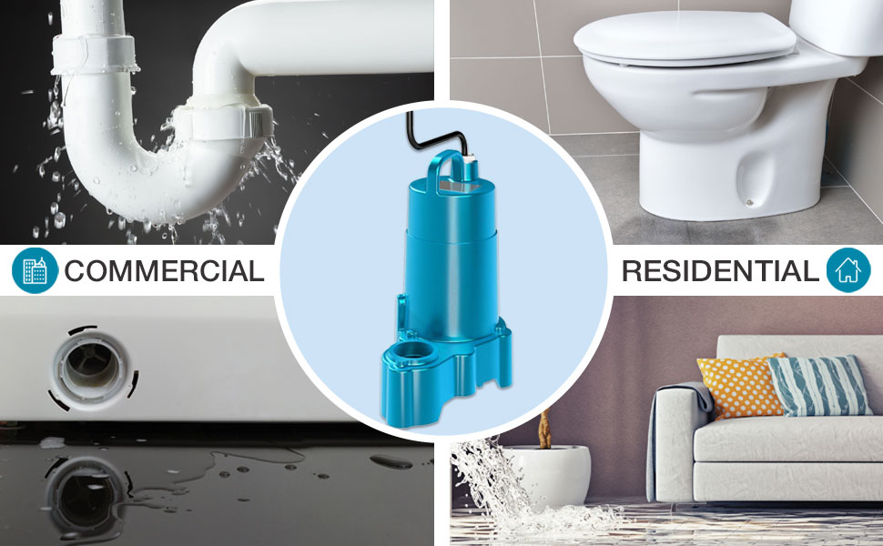 Prevent flooding and water damage with our all-in-one sump pump system