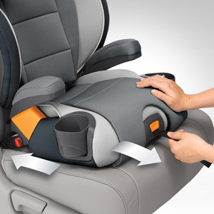 Chicco KidFit Zip Air 2-in-1 Belt Positioning Booster Car Seat - Q Collection