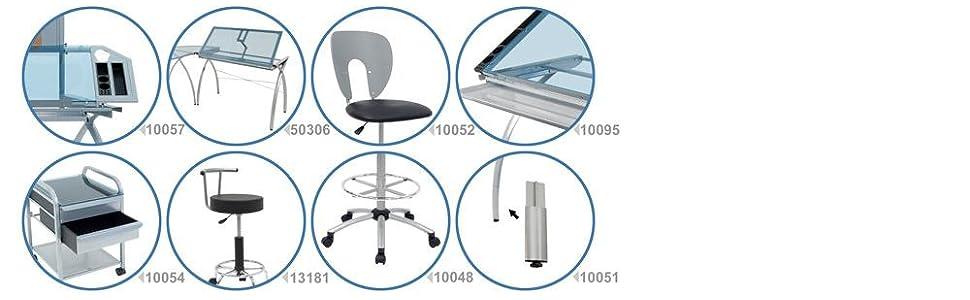 Futura Colleciton, Futura Tables, Futura Desks, art furniture, craft room furniture, hobby furniture