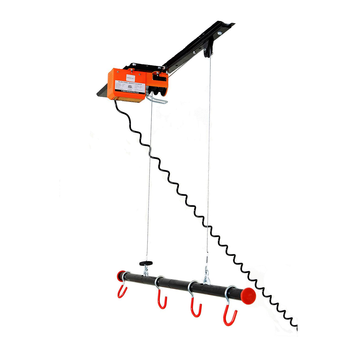 garage gator gg4125 125lb motorized overhead bike lift