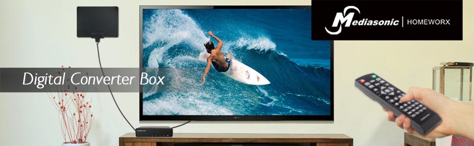 digital converter box atsc box tv tuner