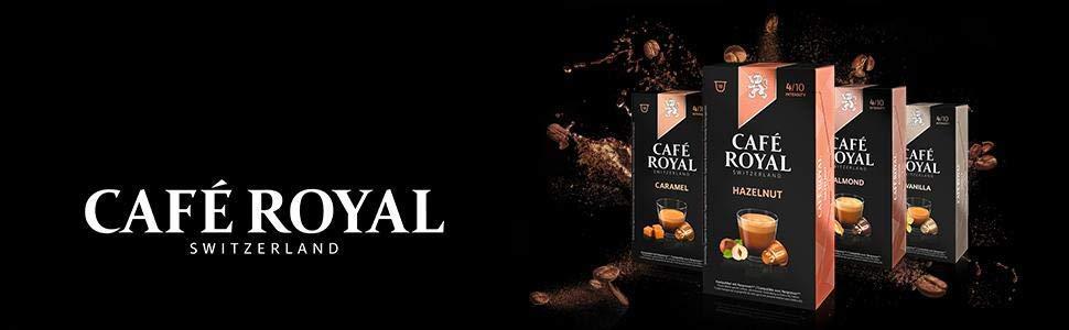 Café Royal Flavoured Edition Cápsulas Compatibles con Nespresso