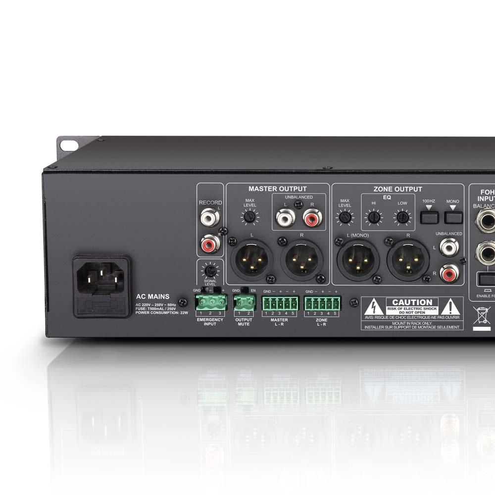 Ld Systems Lds Zone423 Channel Mixer Powered Musical Ae86 Fuse Box View Larger