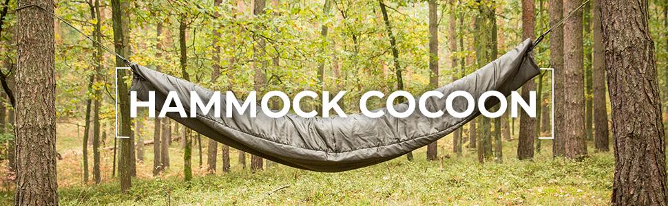 Amazon.com: Snugpak– hamaca Cocoon con relleno ...