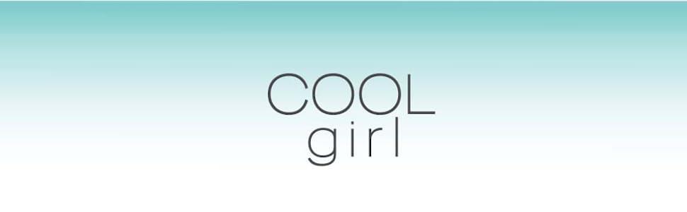 Cool girl logo banner sleep wear pajama comfy