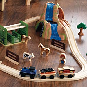 kidkraft farm train set instructions