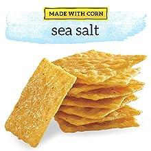 Good Thins Made With Corn Sea Salt Flavor