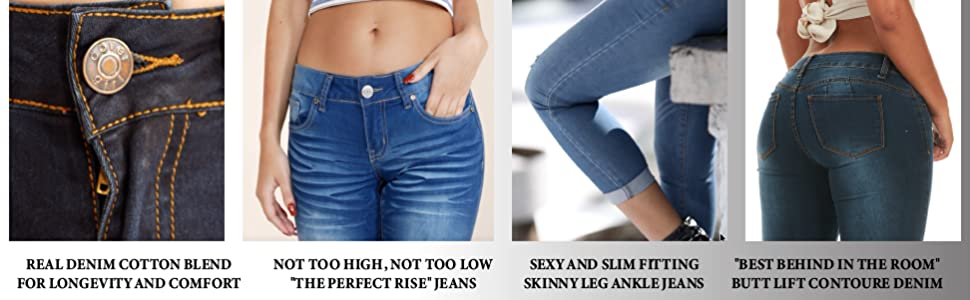 Cover Girl Jeans Features