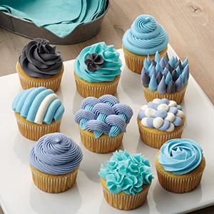 cupcake decorating, easy cupcakes, buttercream frosting, buttercream icing, frosting piping