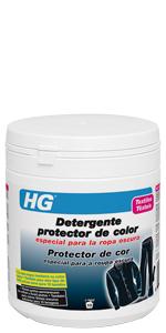 HG Detergente protector de color especial para la ropa oscura ...