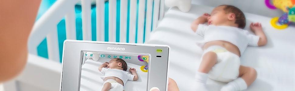 MINILAND BABY - Vigilabebé: Amazon.es: Bebé