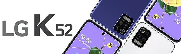 Lg K52 Smartphone 64gb 4gb Ram Dual Sim White Elektronik