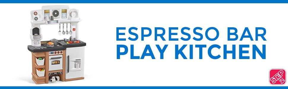 Step2 Espresso Bar Kitchen Playset