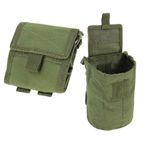 Condor MA36 Black MOLLE Folding Roll Up Drop Down Ammo Magazine Utility Pouch