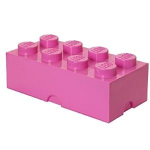 Ladrillo de almacenamiento 8 espàrragos Lego: LEGO: Amazon.es: Juguetes y juegos