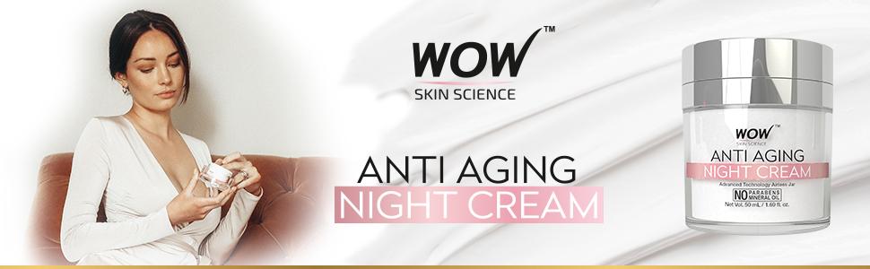 WOW SKIN SCIENCE ANTI AGING DAILY NIGHT CREAM