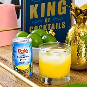 Dole Juice, Pineapple, 6 Ounce Cans