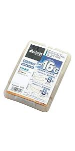 ロゴス 保冷剤 氷点下パックGTマイナス16度ハード600 81660612