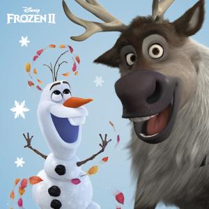 Olaf, Sven, Frozen 2, Frozen II, Anna, Elsa, Frozen book